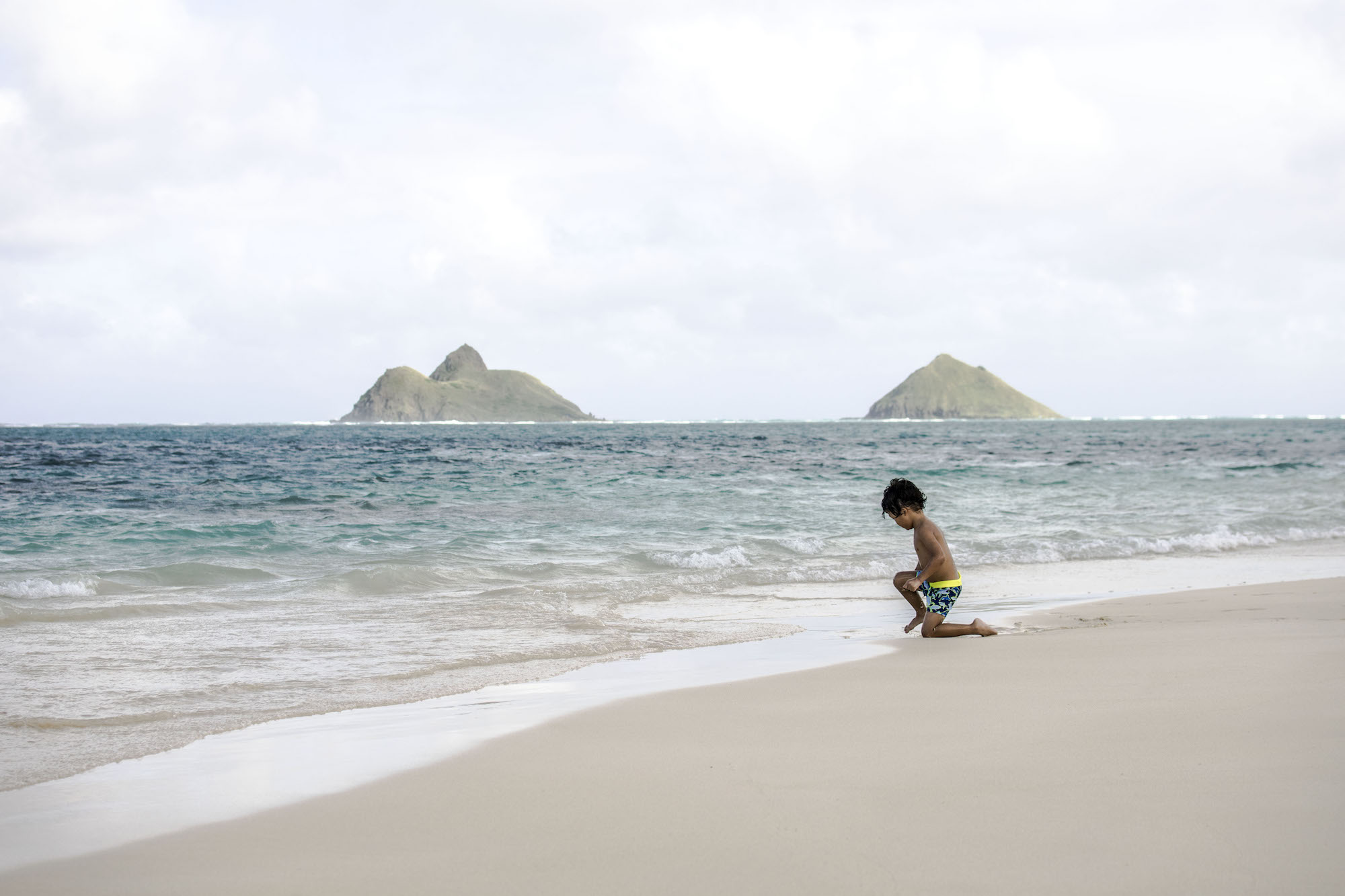 Islands Life |Hawaiian Boy at Lanakai by LovaLinda