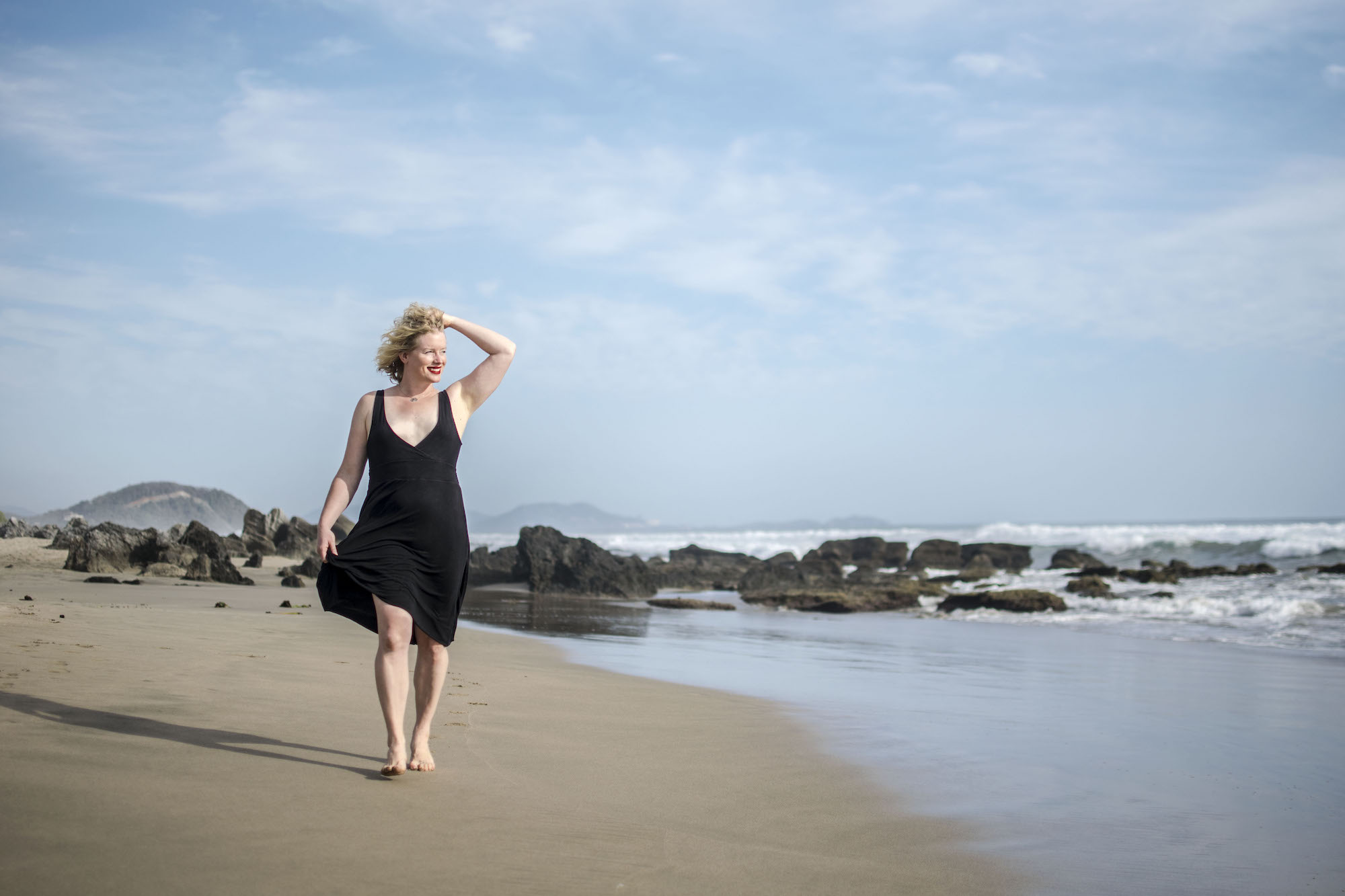 On the Beach | Karen Piacquadio | Playa Troncones | LovaLinda Photography