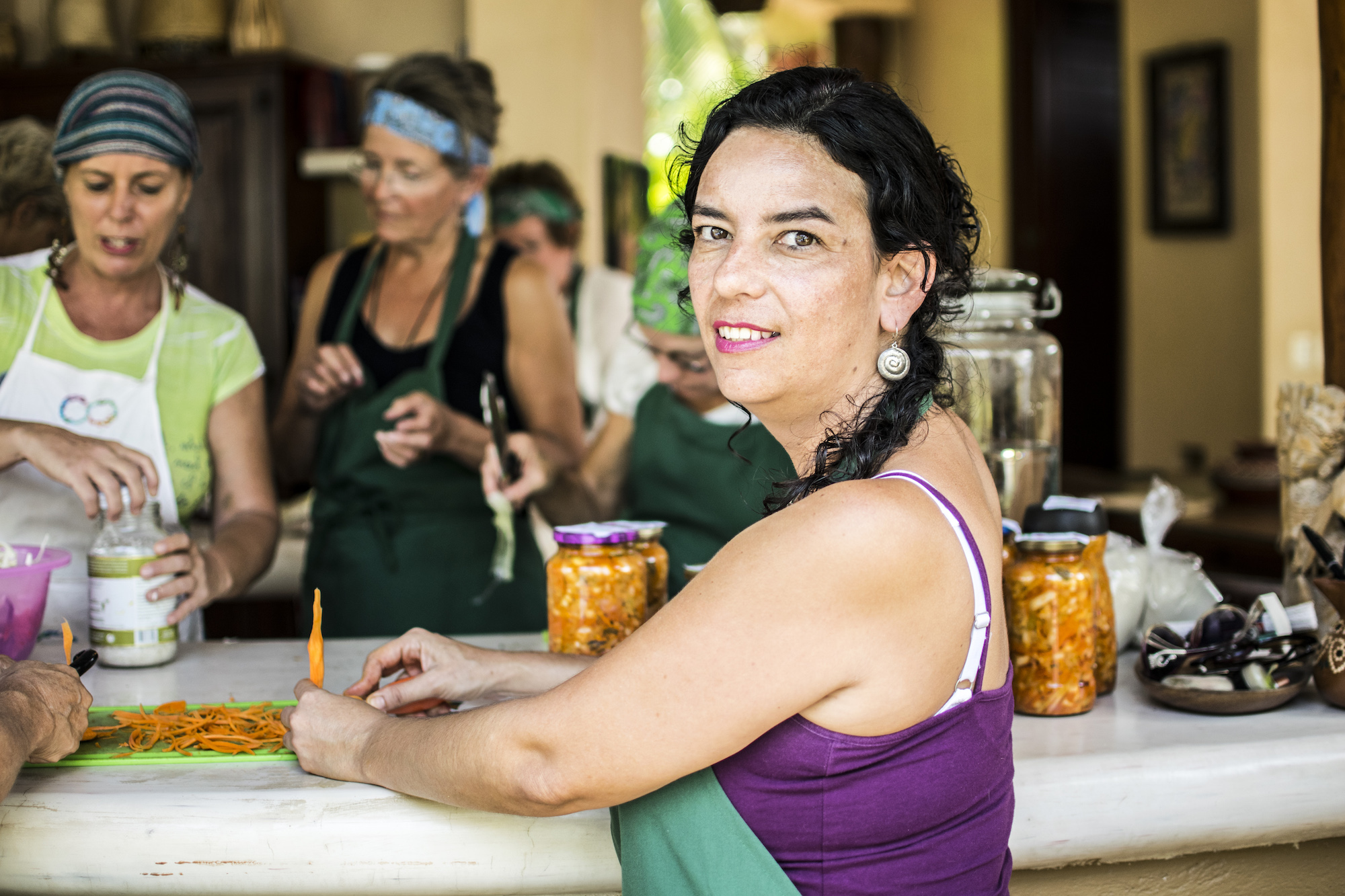 Pura Vida Fermanting Classes | Small Event Troncones | Mexico | LovaLinda Photography