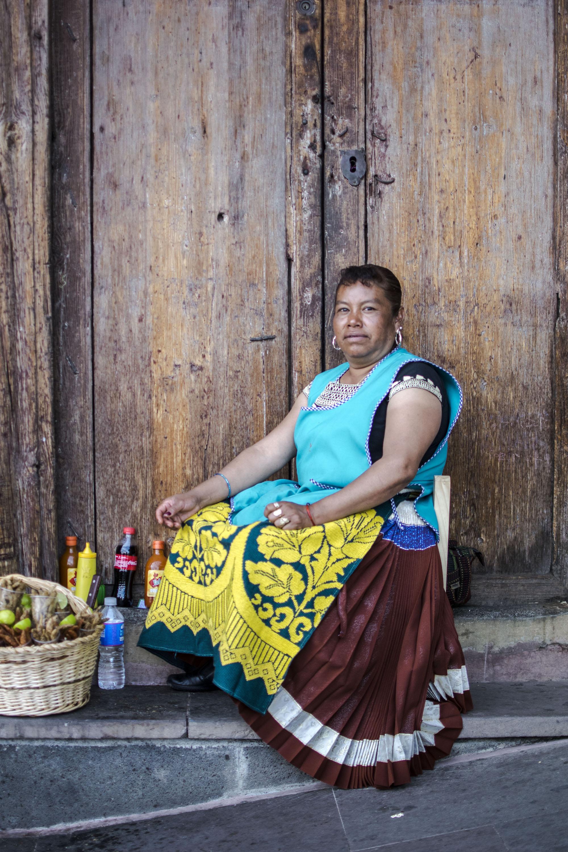 Reine | Market | Mexican Queen | Patzcuaro | Mexico | LovaLinda Photography
