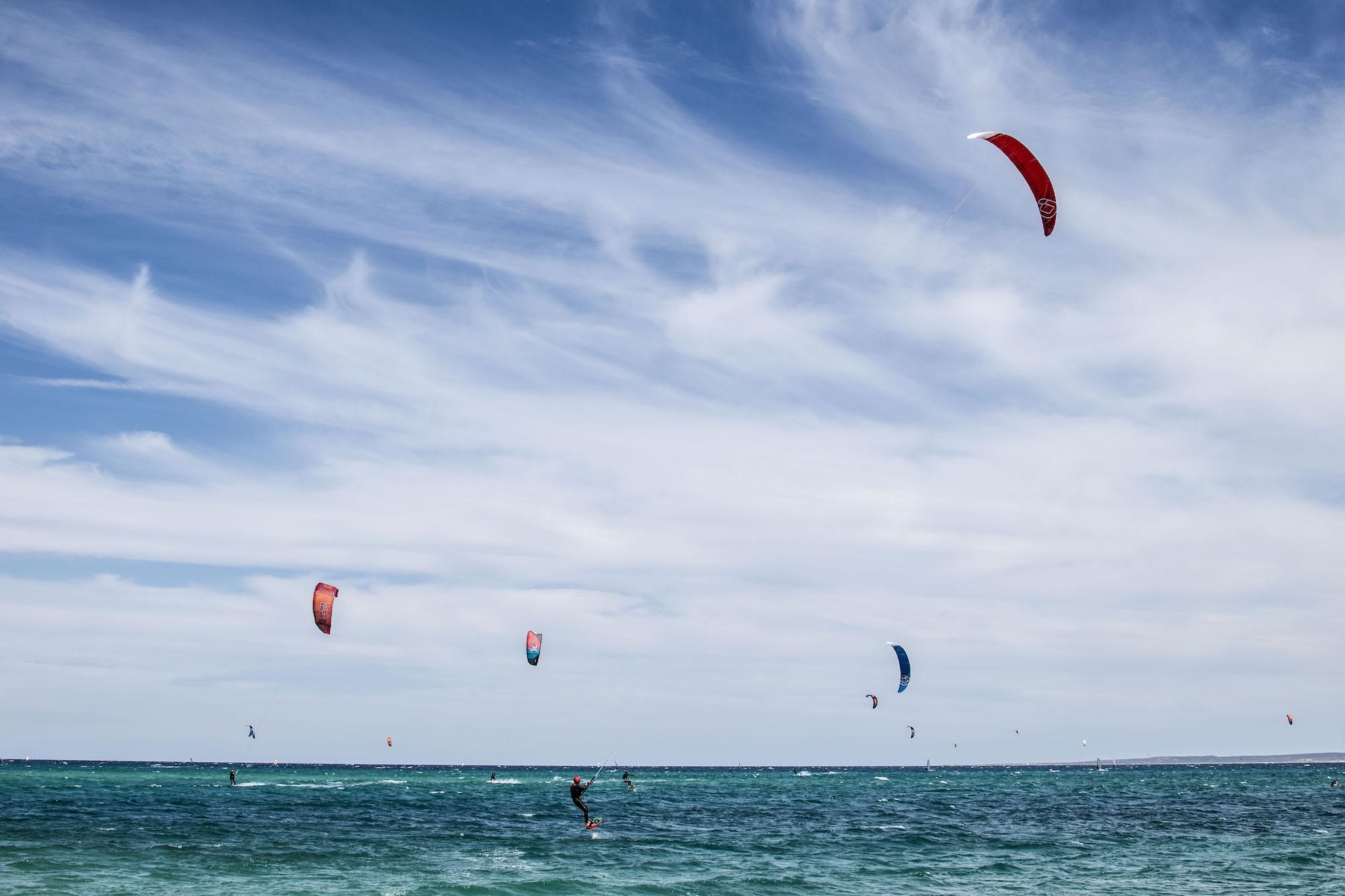 Voiles | Kite Surfing | La Ventana | Isla Espiritu | La Paz | LovaLinda Photography