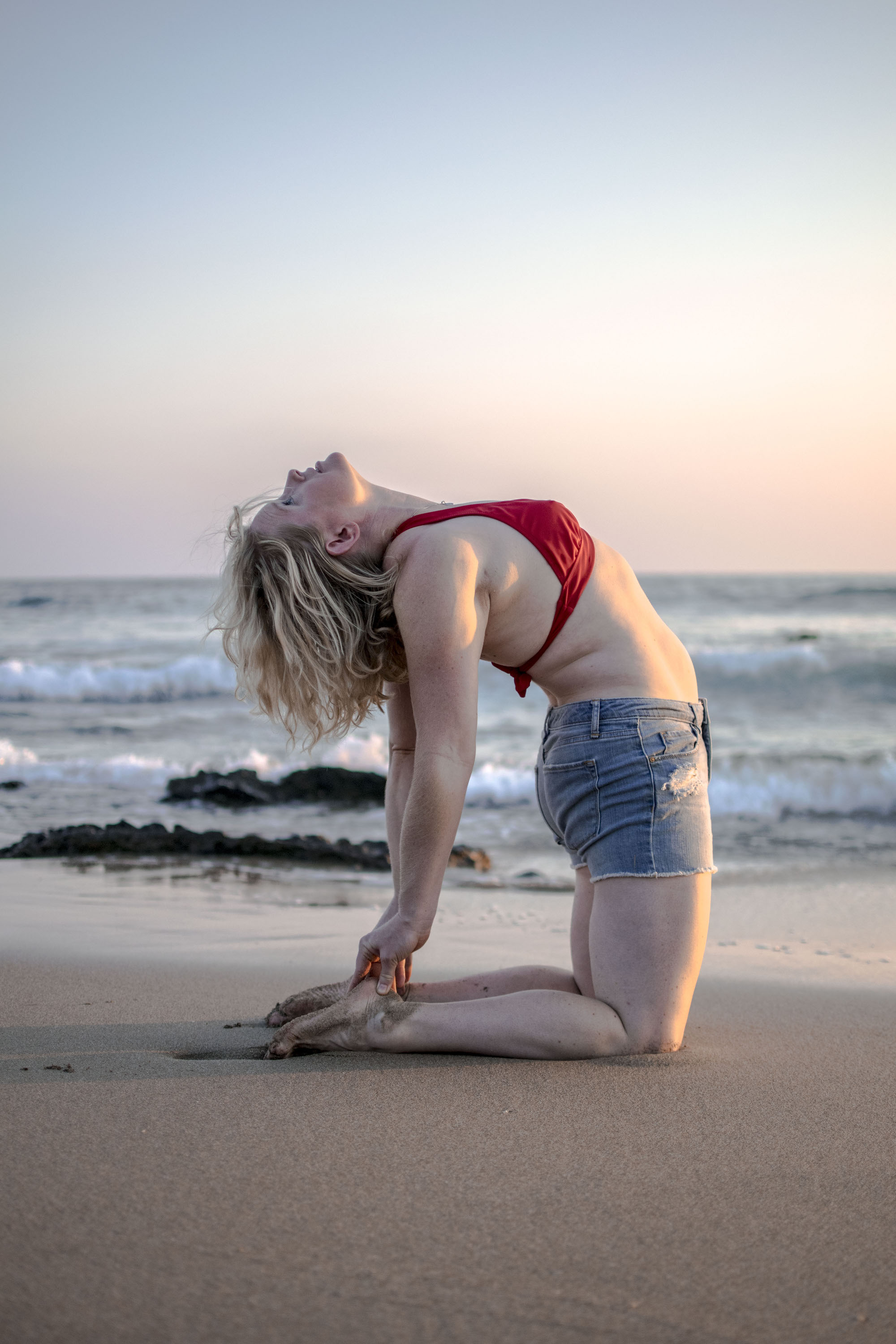 Yoga Sunset | Karen Piacquadio | Playa Troncones _ LovaLinda Photography