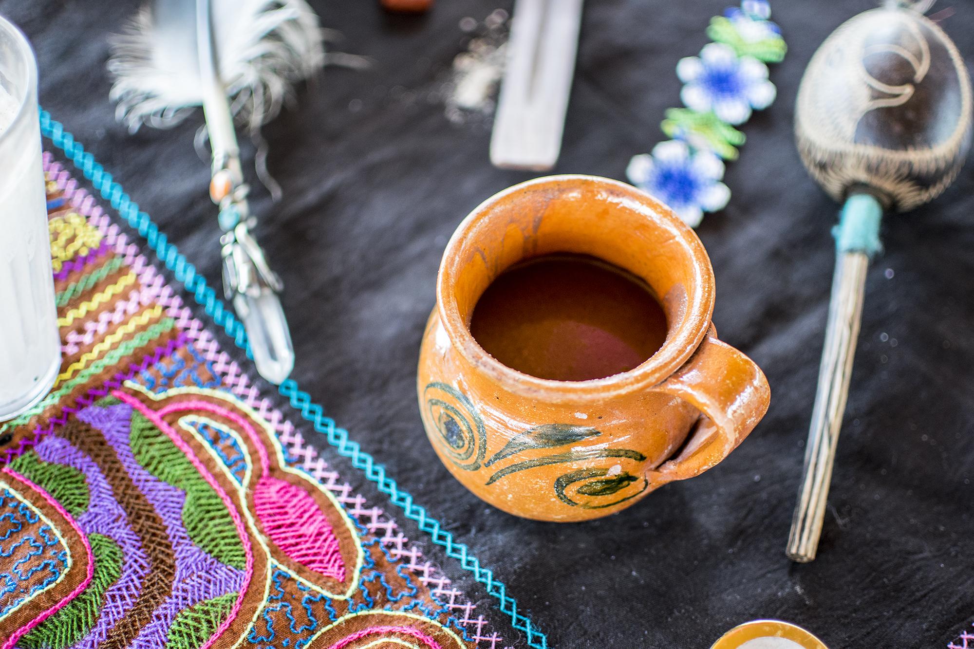 Sacred AUM Cacao Ceremony w: Emily Ray Henderson | Present Moment Retreat | Troncones | Mexico | Yoga Retreat | Boutique Hotel | Spa Resort | LovaLinda Photography