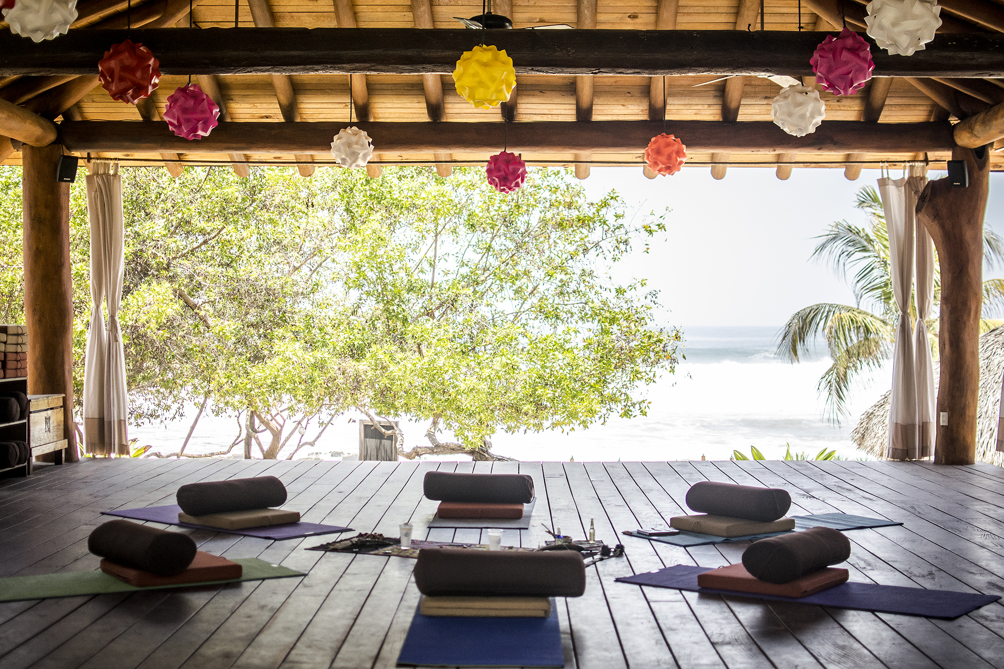 Sacred AUM Cacao Ceremony w: Emily Ray Henderson Yoga Platform | Present Moment Retreat | Troncones | Mexico | Yoga Retreat | Boutique Hotel | Spa Resort | LovaLinda Photography