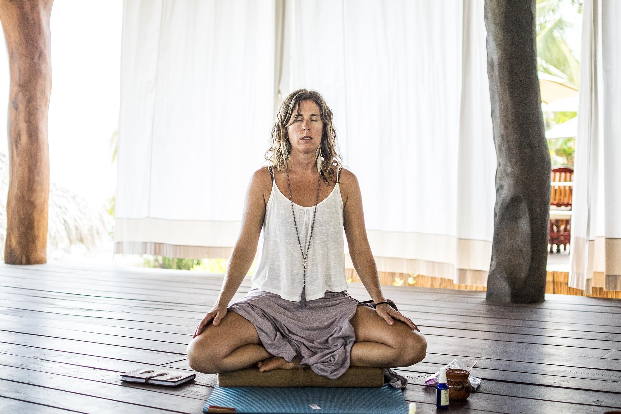 Sacred AUM Cacao Ceremony w: Emily Ray Henderson | Yogi | Present Moment Retreat | Troncones | Mexico | Yoga Retreat | Boutique Hotel | Spa Resort | LovaLinda Photography