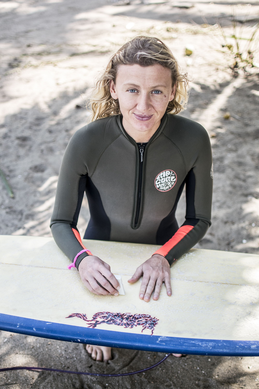 Susan Nelson | Surfer Girl | Troncones | Saladita Mexico | LovaLinda Photography